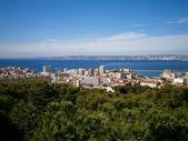 Marseille en zee — Stockfoto