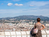 Marseille city — Stock Photo