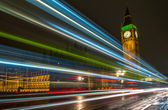Night of Bigben — Stock Photo