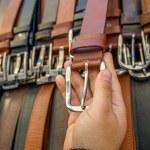 Holding belt — Stock Photo #25935259