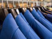 Blue cloth  — Stock Photo