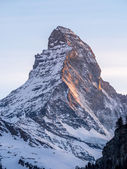 Matterhorn of Zermatt — Stockfoto