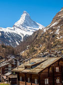 Matterhorn of Zermatt — Stock Photo