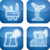 Industry Icons — Stock Photo