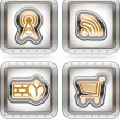 Web icons — Stock Photo