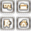 Web icons — Stock Photo #13771305