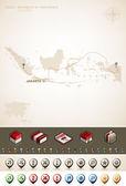 Republic of Indonesia — Stock Photo