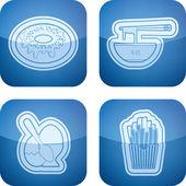 Food & drinks — 图库照片