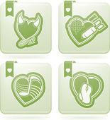 Valentinky srdce — Stock fotografie