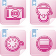 Stock Photo: Photography Icons Set