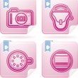 Photography Icons Set — Stock Photo #22973488