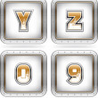 Digits & capital letters — Stock Photo #29556479
