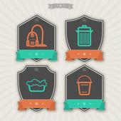 Articoli di pulizia — Foto Stock