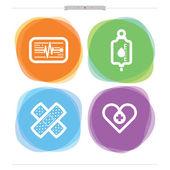 Hälso-och sjukvård — Stockfoto