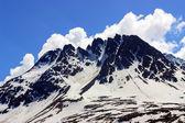 снежная гора — Стоковое фото