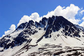Sníh hora — Stock fotografie