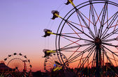 Carnival Silhouettes — Stock Photo