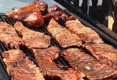 Barbeque Ribs — Stock Photo