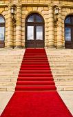 Red carpet — Stock Photo