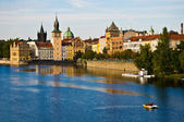 Prague and the Vltava — Stock Photo