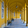 Colonnade in Schoenbrunn — Stock Photo