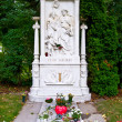 Stock Photo: Schubert's grave