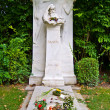 Brahms&#039; grave - Stock Photo