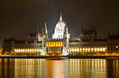 Budapest at night — Stock Photo