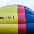 Hot air balloon festival in Muenster, Germany — Stock Photo