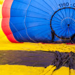 Hot air balloon festival in Muenster, Germany — Foto de stock #33248497