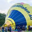 Hot air balloon festival in Muenster, Germany — ストック写真