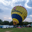 Hot air balloon festival in Muenster, Germany — Stockfoto #33248531