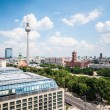 Berlin from above — Lizenzfreies Foto