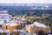 Berlin from above — Stockfoto