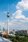 Berlin from above — Stock Photo