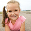 Outdoor portrait of a little girl — Stock Photo #13181724