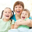 Family is having fun — Stock Photo #15314609