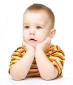 Portrét roztomilý chlapeček — Stock fotografie