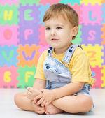 Portrait of a little boy — Stock Photo