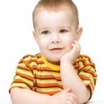 Portrait of a cute little boy — Stock Photo #21740565
