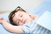 Cute little boy is sleeping — Stock Photo