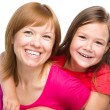 Portrait of a happy mother with her daughter — Stock Photo #31904929