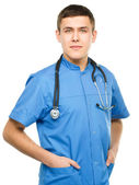 Portrait of a young surgeon — Stock Photo
