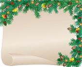 Noel çerçeve — Stok Vektör