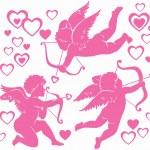 Cupids — Stock Vector