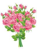 Bouquet of Roses — Stockvektor