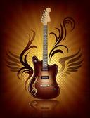 Música rock — Vector de stock