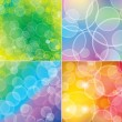 Bokeh backgrounds - Stock Vector