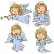 Cute angels — Stock Vector