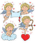Cupids kids 2 — Stock Vector
